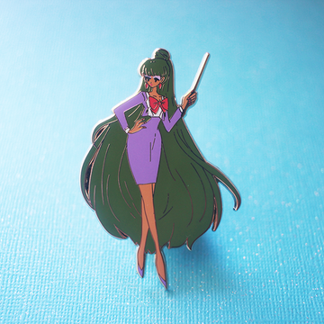 HEADMISTRESS PLUTO / SETSUNA ENAMEL PIN [FASHION SCOUTV3] [LIMITED EDITION]