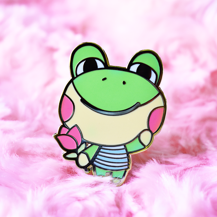 Henry Enamel Pin [Villager]
