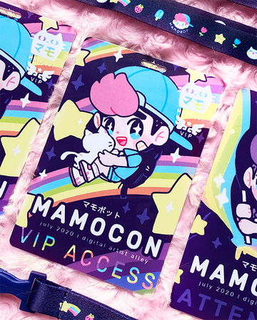 MAMOCON 2020 LANYARD [LANYARD + NORMAL ATTENDEE BADGE] SET