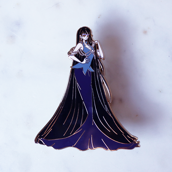 FASHION SCOUT MISTRESS 9 ENAMEL PIN [LIMITED EDITION]