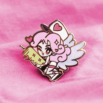 YGO INJECTION FAIRY LILY ENAMEL PIN