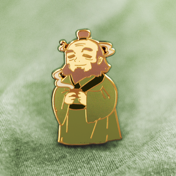 UNCLE IROH ENAMEL PIN [AVATAR]