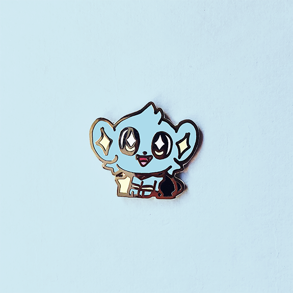BABY SHINX ENAMEL PIN