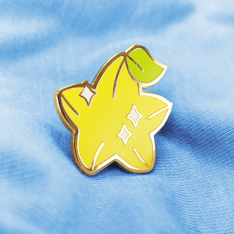 Paopu Fruit Enamel Pin