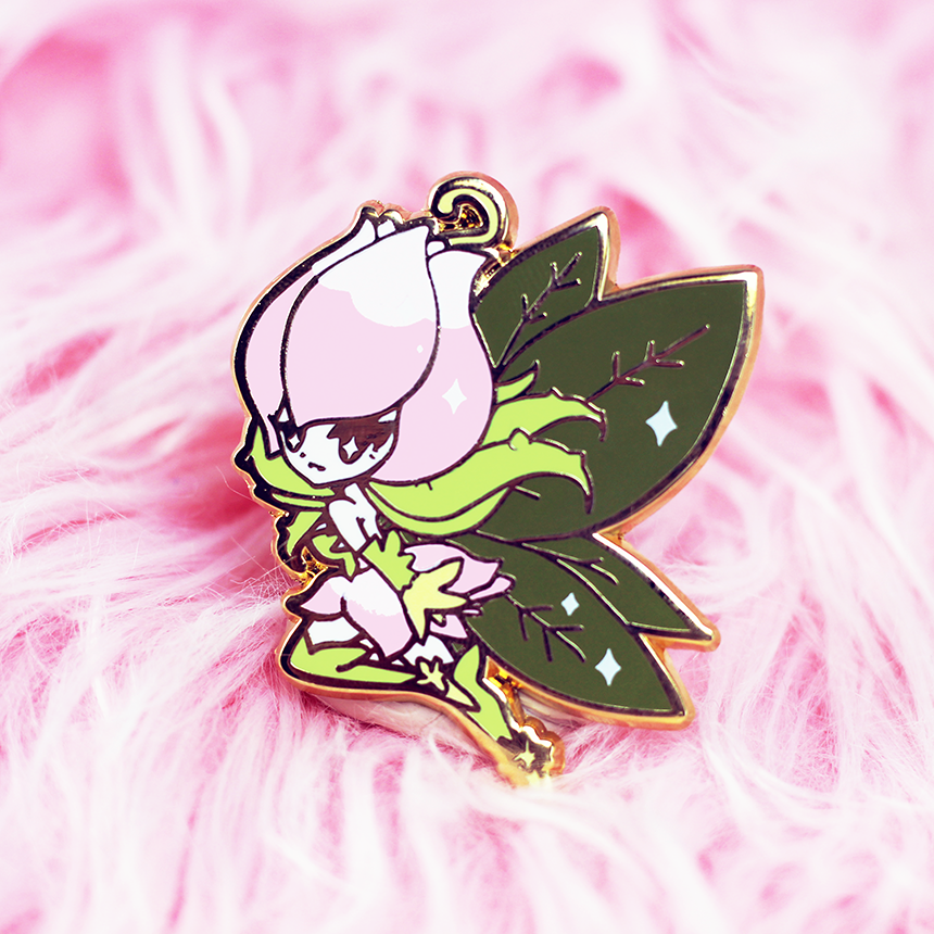 DIGIQUEEN LILYMON ENAMEL PIN