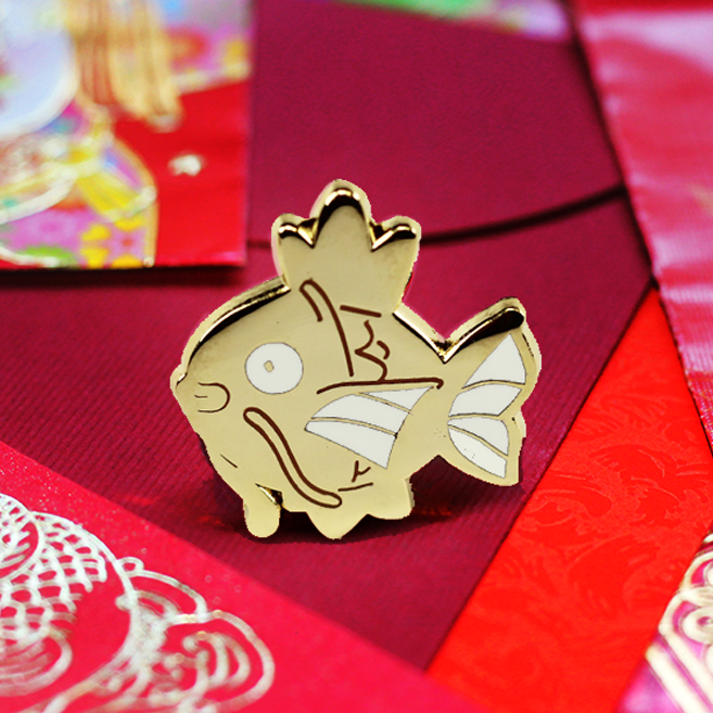 BABY GOLD MAGIKARP ENAMEL PIN [LIMITED EDITION]