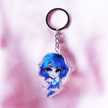 SAILOR MERCURY ACRYLIC KEYCHAIN
