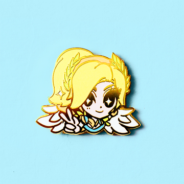 OVERWATCH VICTORY GODDESS MERCY ENAMEL PIN [LIMITED EDITION]