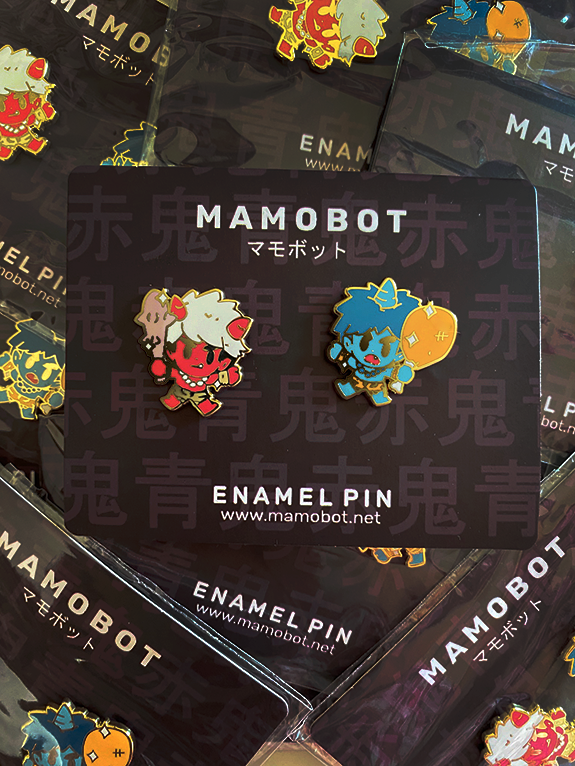 Oni Boys Set [Patreon Pin Club] Enamel Pins [2 PC]