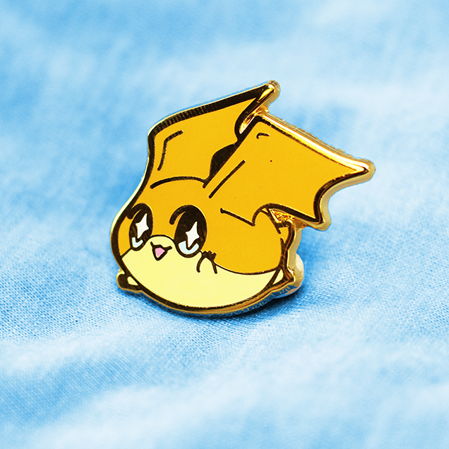 DIGIBABY PATAMON ENAMEL PIN