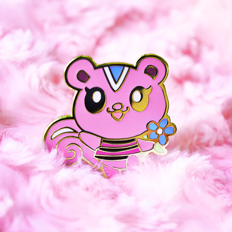 Peanut Enamel Pin [Villager]