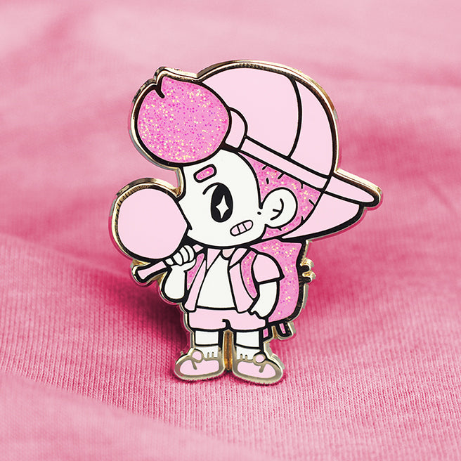 TOUGH GUY [FB PINK] ENAMEL PIN