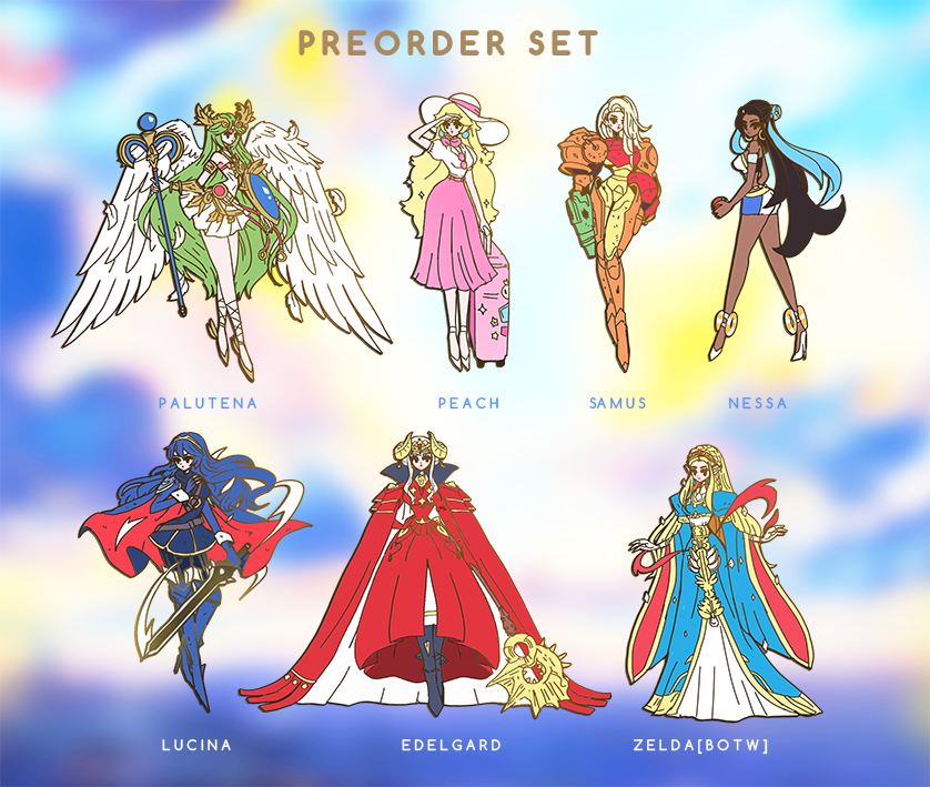 PREORDER NINTENDOLLS SET [PATREON ONLY PREORDER] [NINTENDOLLV2] [7 PC]