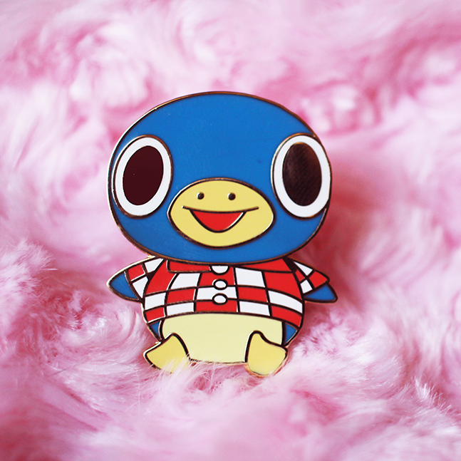 Roald Enamel Pin [Villager]