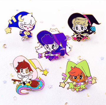 WITCH BOY & FRIENDS FULL SET [5PC]
