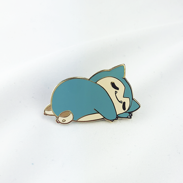 BABY SLEEPY SNORLAX ENAMEL PIN