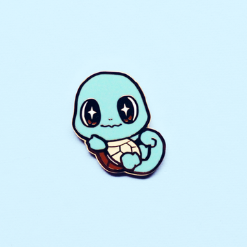 Baby Squirtle Enamel Pin