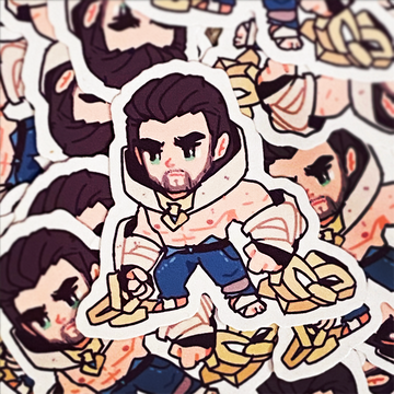 Sylas Vinyl Sticker
