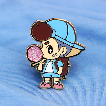 TOUGH GUY [FB] ENAMEL PIN