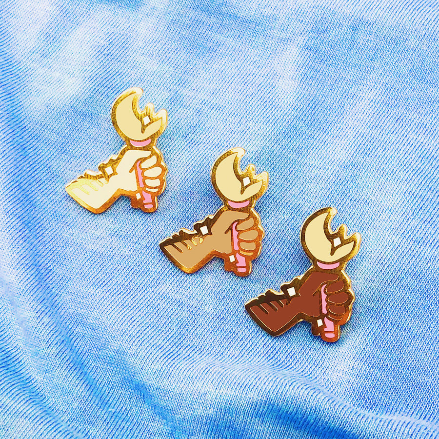 MAGICAL MAN WAND ENAMEL PIN
