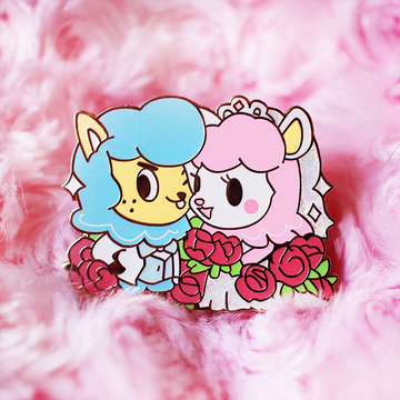 WEDDING REESE & CYRUS ENAMEL PIN [PATREON EXCLUSIVE]