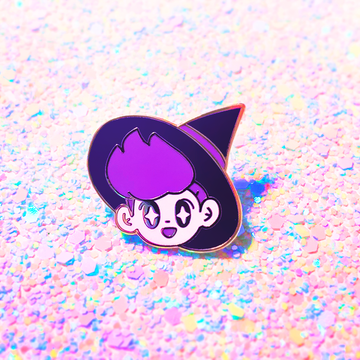 Witch Boy Enamel Pin