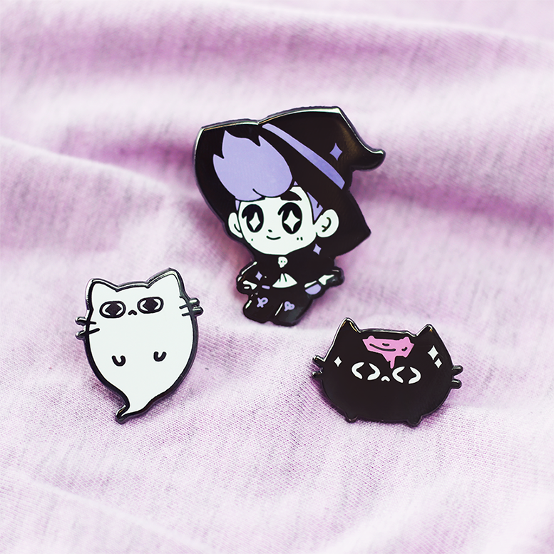 WITCH BOY ENAMEL PIN SET 2