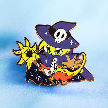 DIGIKING WIZARDMON ENAMEL PIN