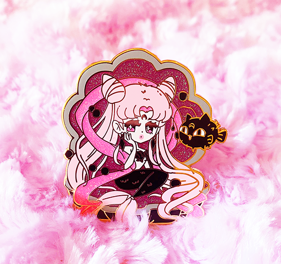 WICKED LADY MERMAID ENAMEL PIN