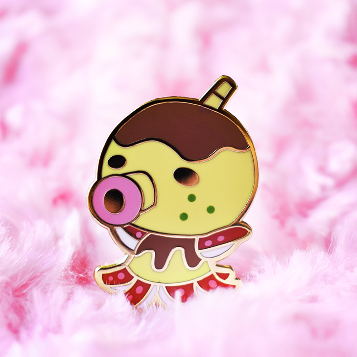 Zucker Enamel Pin [Villager]