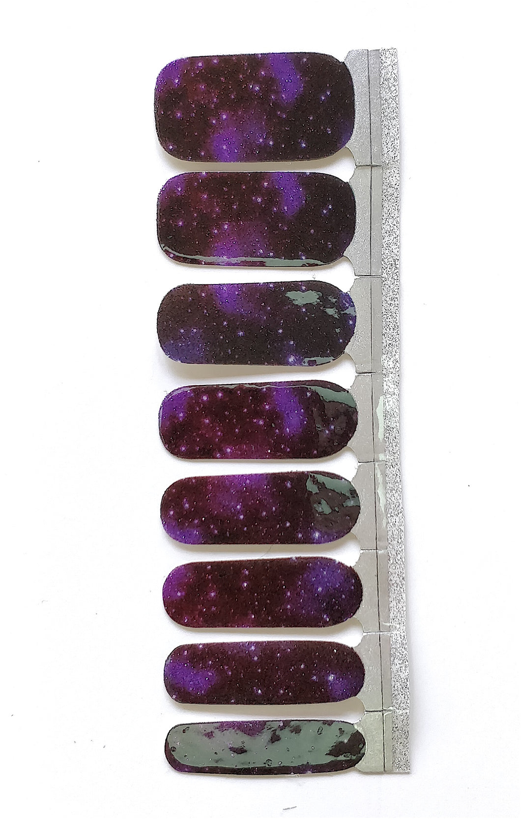 Nail Wraps | Purple Galaxy