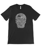 Winter on Mars Skull T-shirt