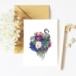 Fauna and Flora - Greeting Card