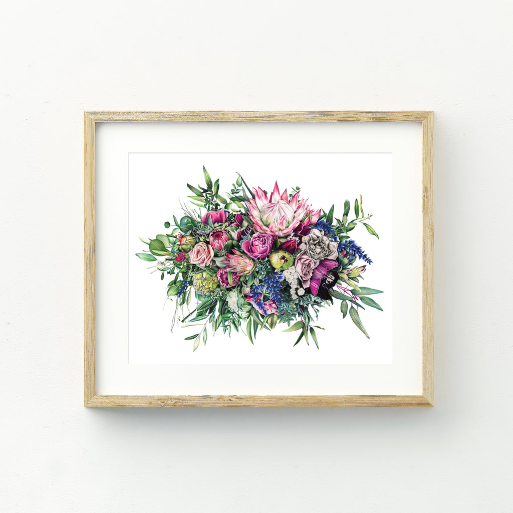Floral Release - A4 Print