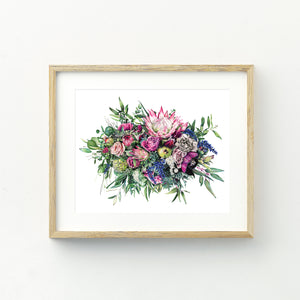 Floral Release - A5 Print