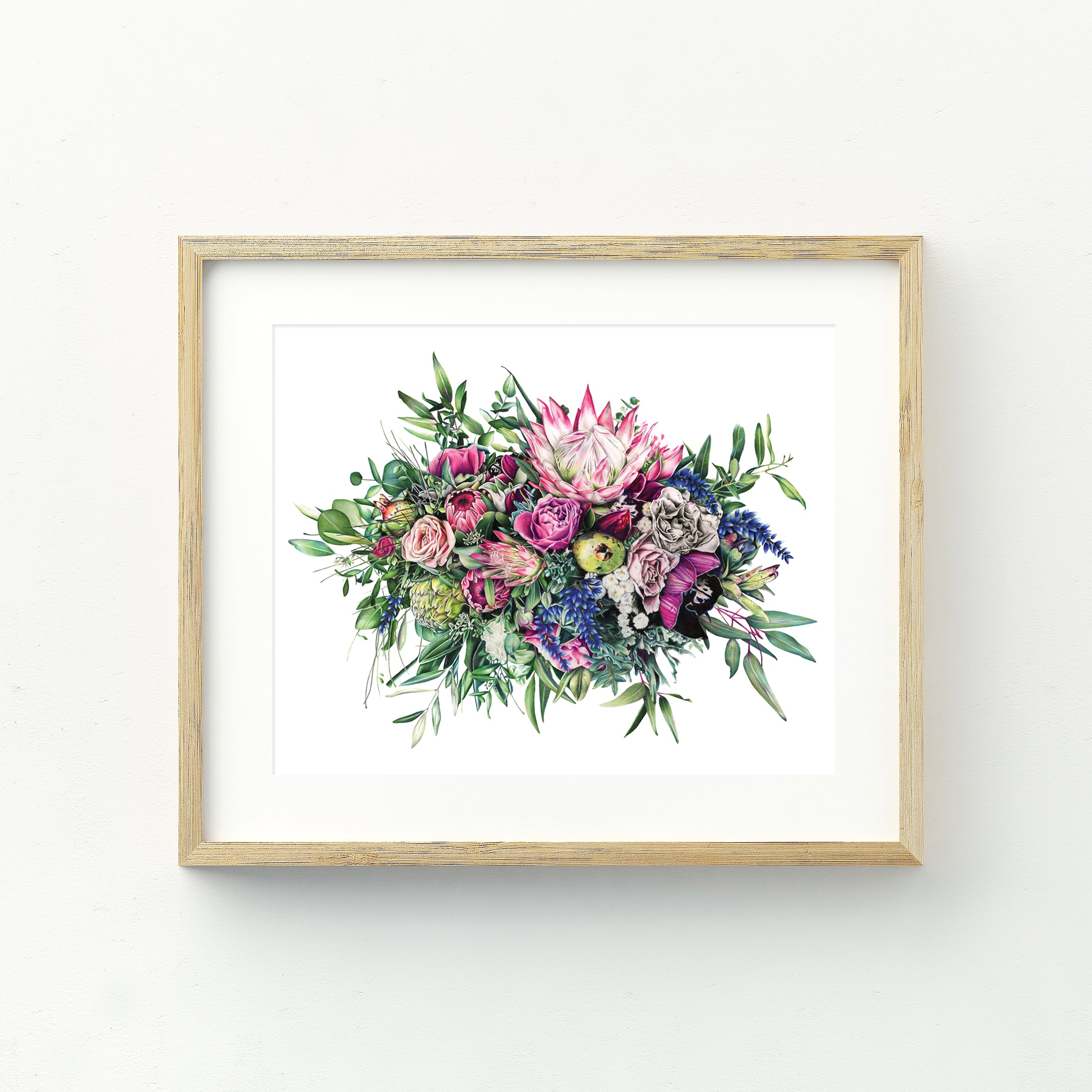 Floral Release - Large Print
