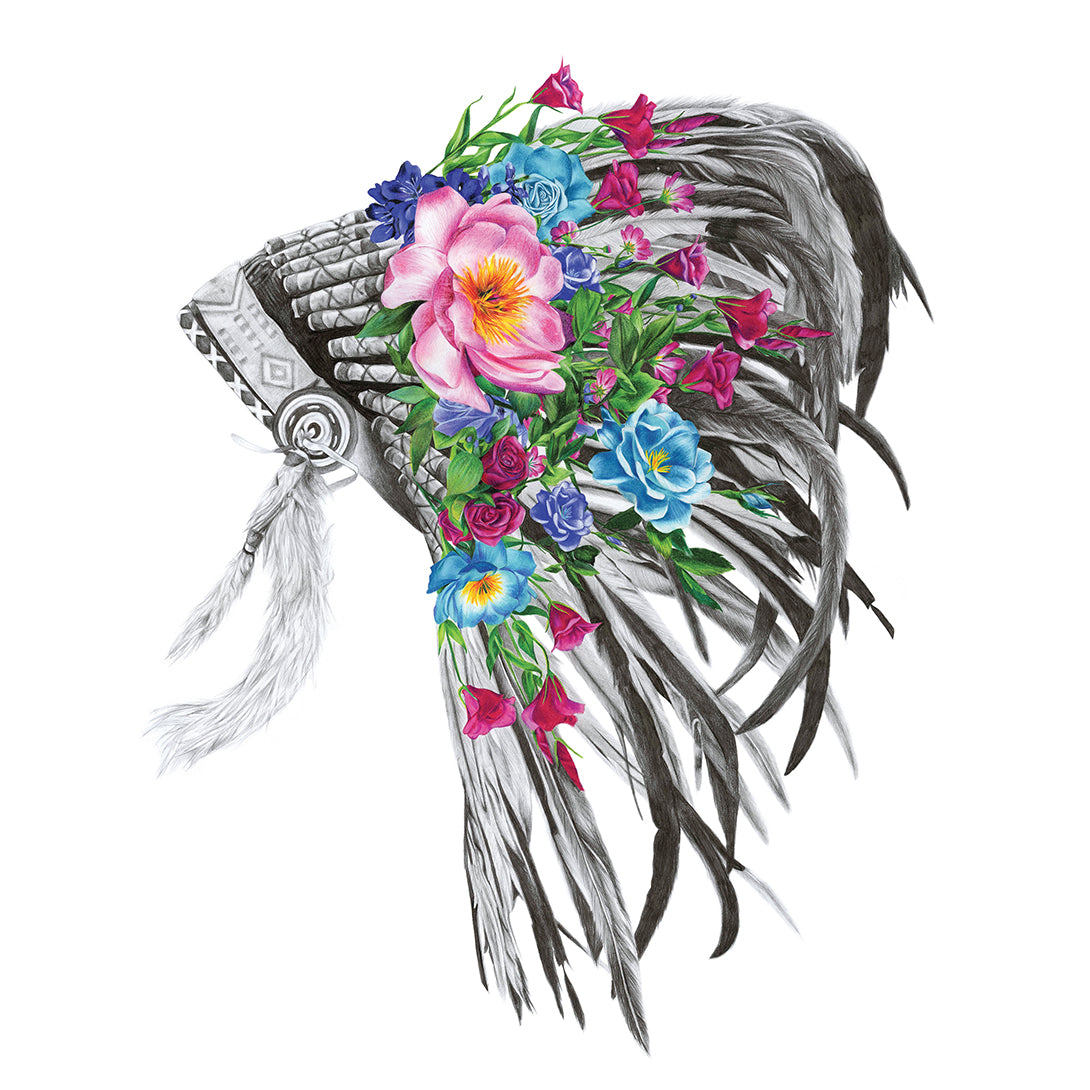 Indian Headdress - Large Print