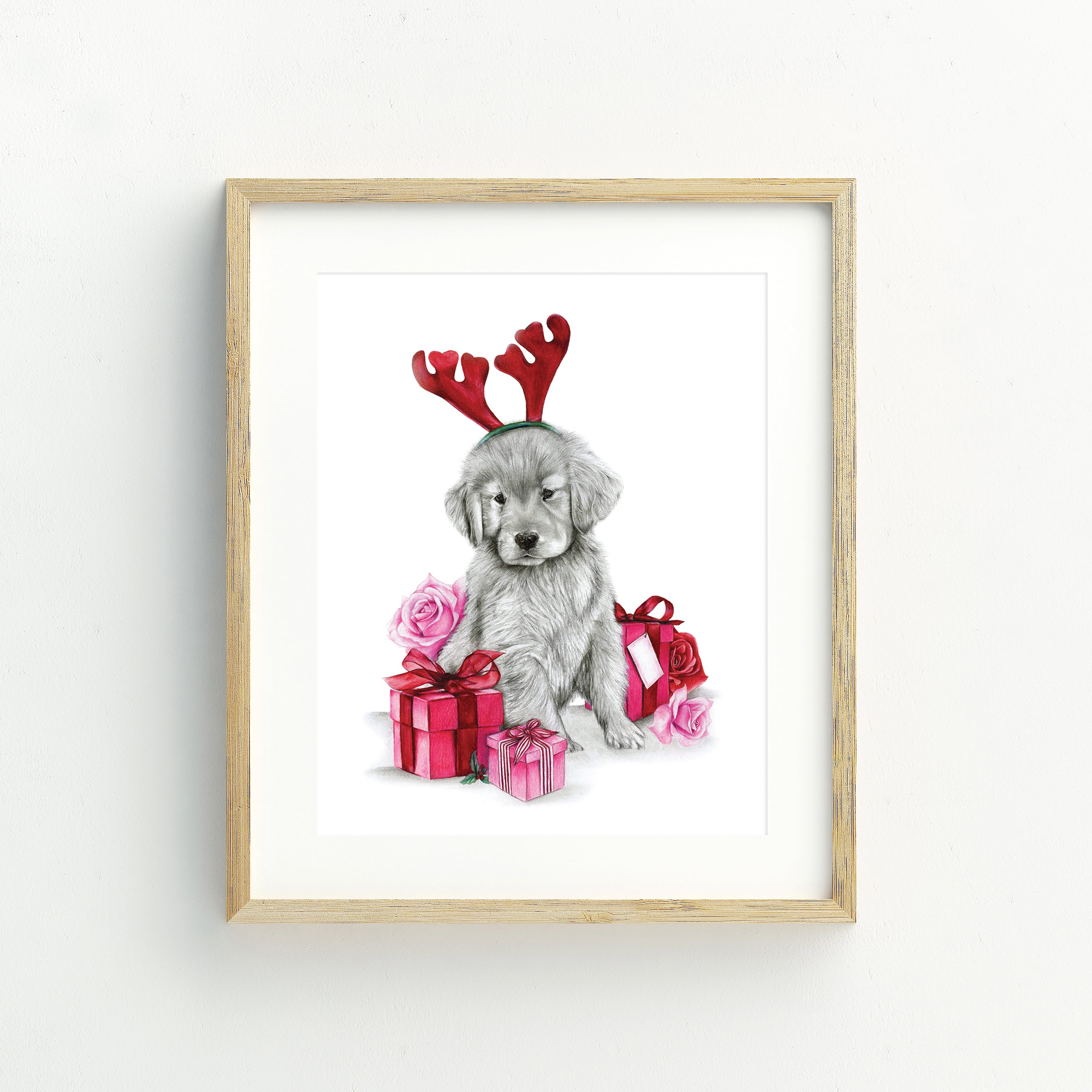 Russell the Reindeer - A5 Print