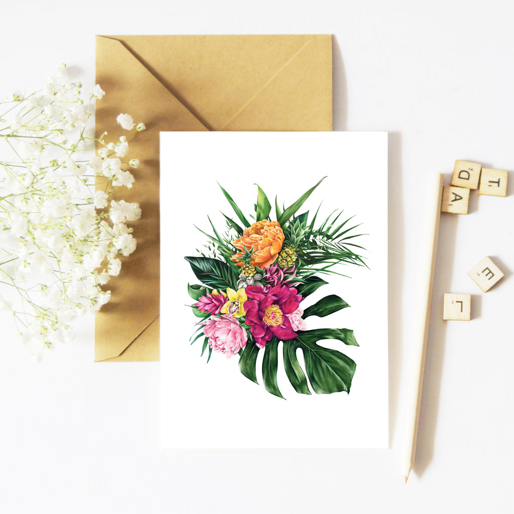 Tropical Florals - Gift Card