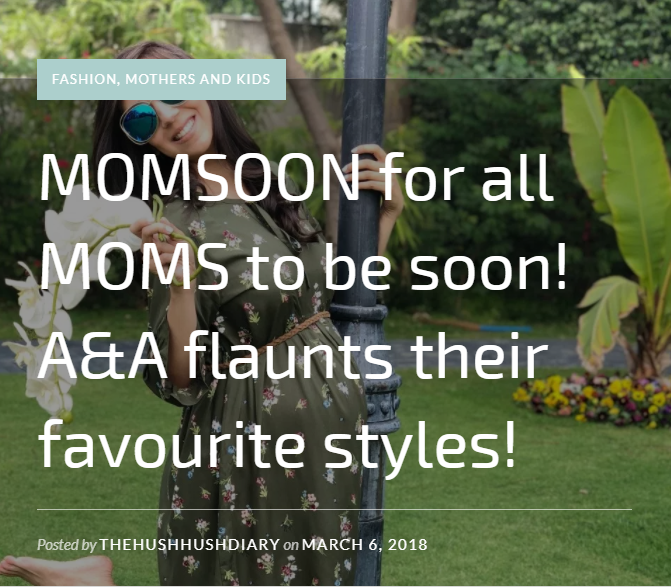 MOMSOON for all MOMS to be soon!
