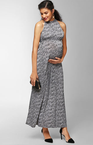 Sleeveless Maxi Dress - momsoon maternity fashion wear