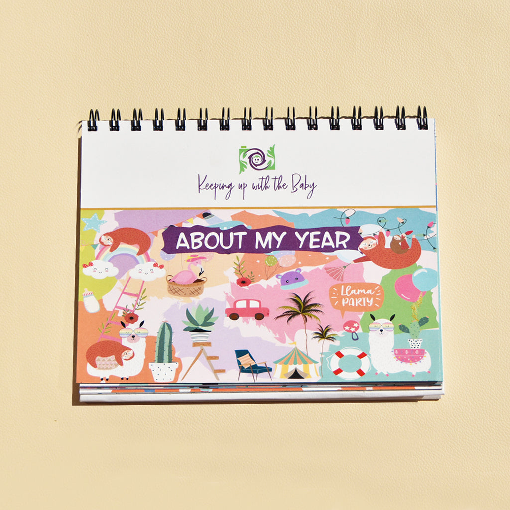 About My Year - Kids Monthly Planner by Keeping Up With The Baby