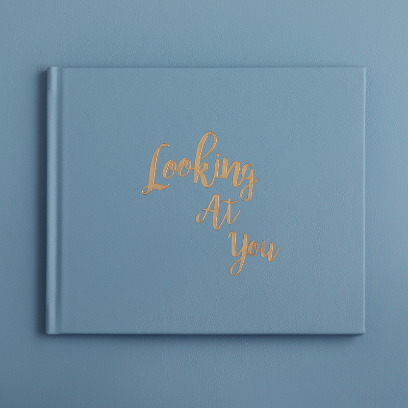 Looking At You Photo Book - Dream Blue by Keeping Up With The Baby - momsoon maternity fashion wear