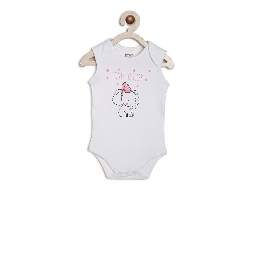 Berrytree Organic Cotton Onesie Elephant