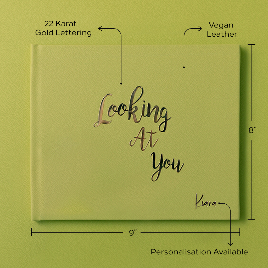 Looking At You Photo Book - Celery Green by Keeping Up With The Baby - momsoon maternity fashion wear