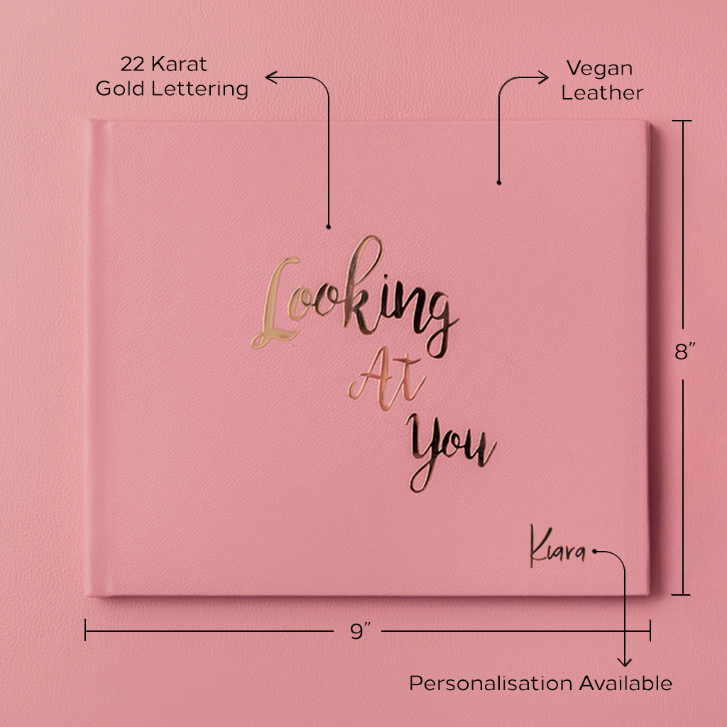 Looking At You Photo Book - Peony Pink by Keeping Up With The Baby - momsoon maternity fashion wear