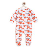 Berrytree Organic Cotton Romper Orange Planes
