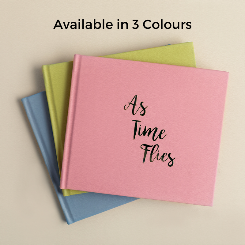 As Time Flies Baby Record Book - Peony Pink by Keeping Up With The Baby - momsoon maternity fashion wear