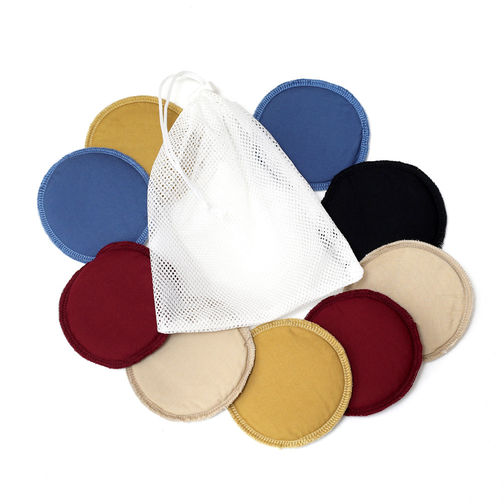3 Pairs of Nursing Pad Plus Laundry Bag by Not Just Kidding - momsoon maternity fashion wear