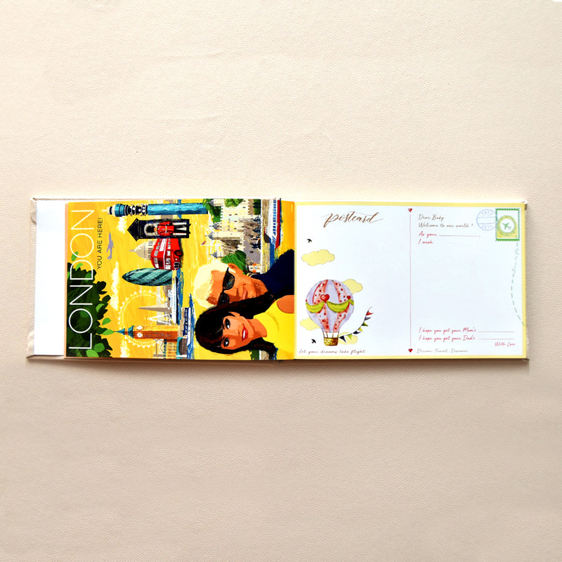 You Mean The World To Us - Baby Visitor Book by Keeping Up With The Baby - momsoon maternity fashion wear